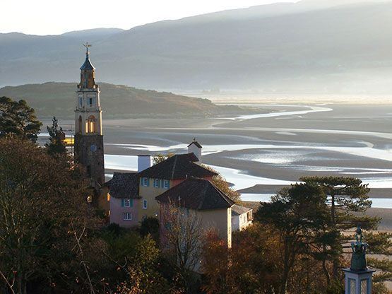 I'd love to see this someday! Portmeirion - where The Prisoner was filmed in the 1960s