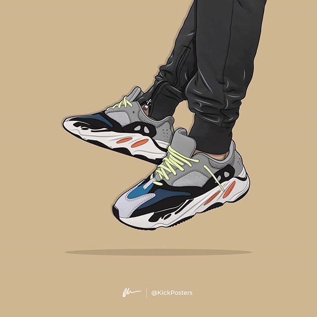 d51a638b662b2 SWIPE - Yeezy 700 Wave Runner Prints Available at KickPosters.com (Link in  bio)👆🏻 —  Regram via  BnylBNfHHVd