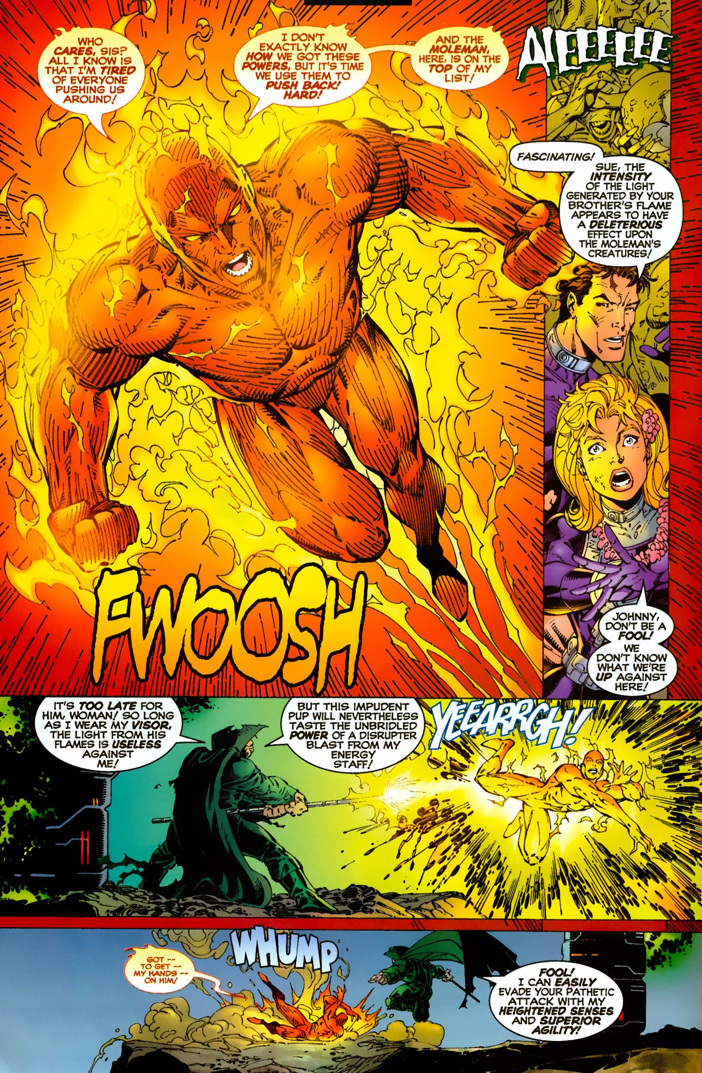 Human Torch by Jim Lee | Comic Pages | Jim lee art, Jim lee