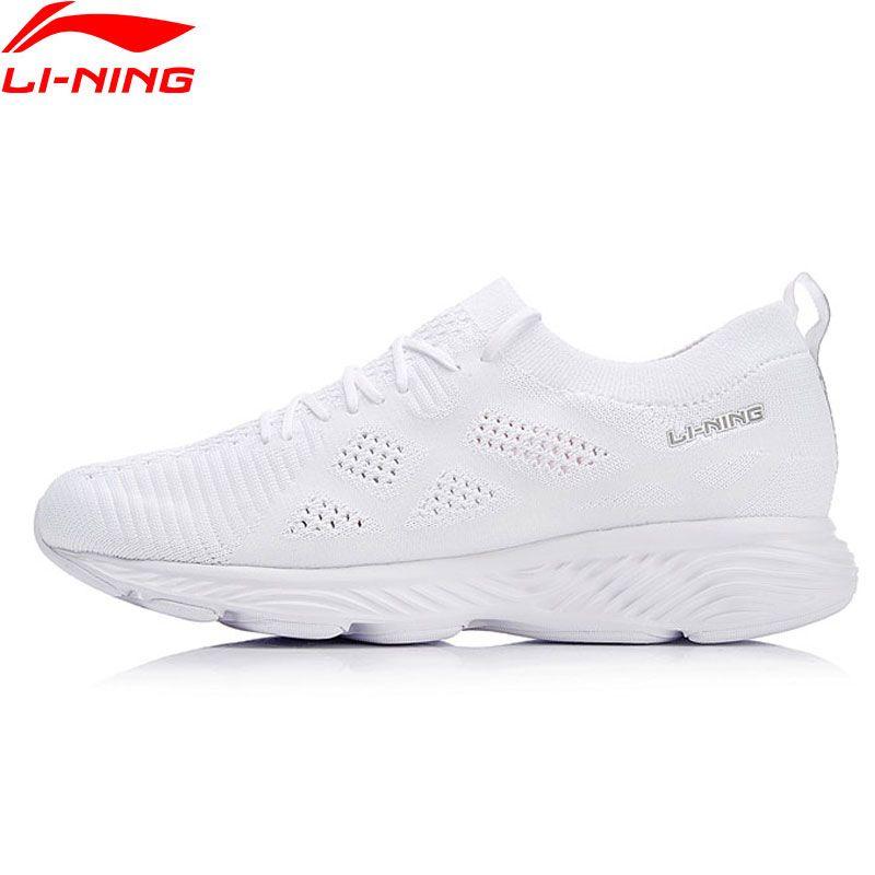 7352108a689f62 Li-Ning Women LN CLOUD III 2018 Running Shoes Wearable Mono Yarn LiNing  Cushion Sport