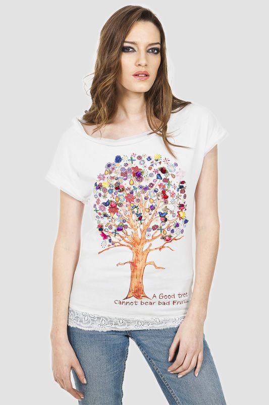 T-shirt Flores - Follow J