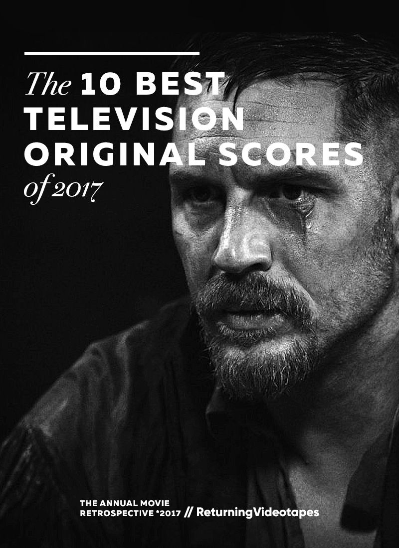 A look at the best television original scores of 2017, from the surrealism of Angelo Badalamenti's work in Twin Peaks, to the grandeur of Lorne Balfe and Rupert Gregson-Williams's compositions in The Crown.