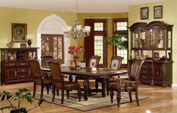 Modern Formal Dining Room Table And Chairs Sets Ideas
