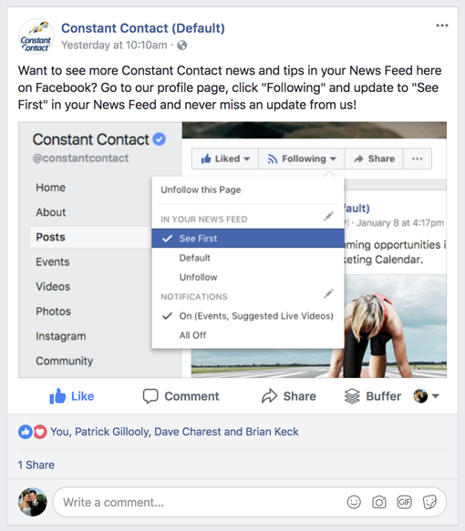 Facebook Might Be Shrinking Your Audience But There S Lots You Can Do About It Facebook Marketing Twitter Tips Instagram Tips