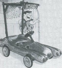 Flintstones Pedal Car