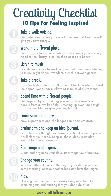 how to improve creativity