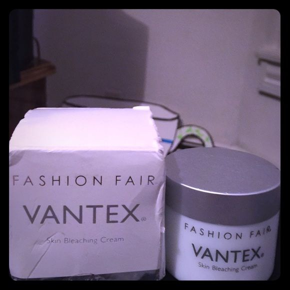 Fashion fair vantex skin bleaching cream 83