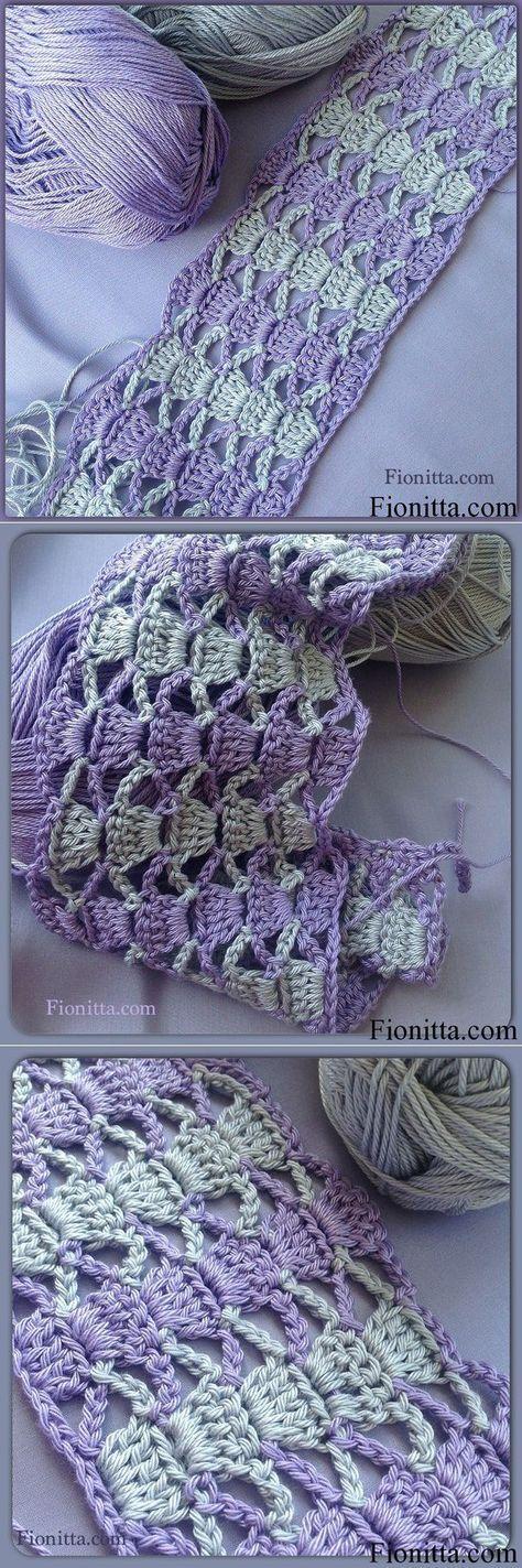 Bonito Patrón De Crochet Capó Colección de Imágenes - Manta de Tejer ...