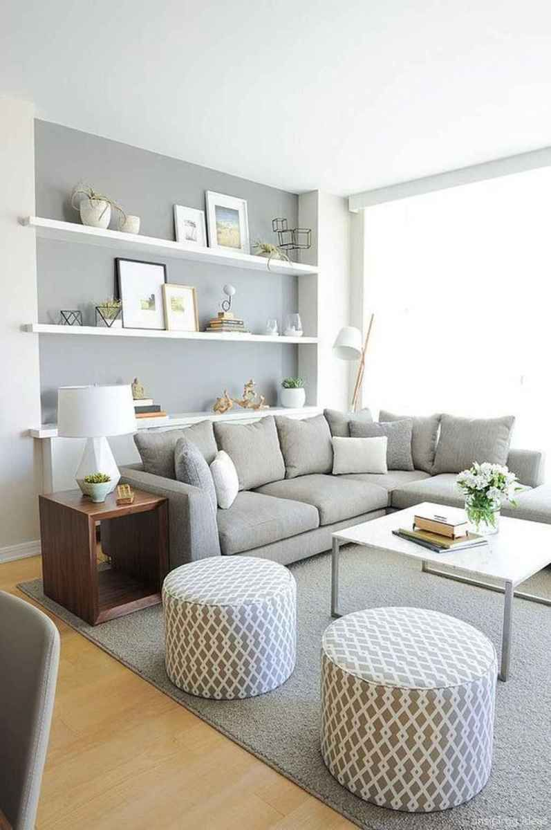 Cozy Modern Apartment Living Room Decorating Ideas On A Budget 35 In 2020 Simple Living Room Designs Small Living Room Decor L Shaped Living Room