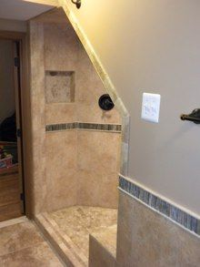 under stairs shower - Google Search