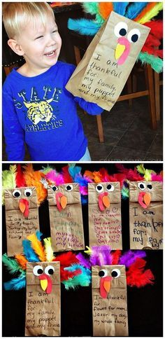 41 Fabulous Thanksgiving Crafts That Are Sure to Inspire You #fallcraftsfortoddlers