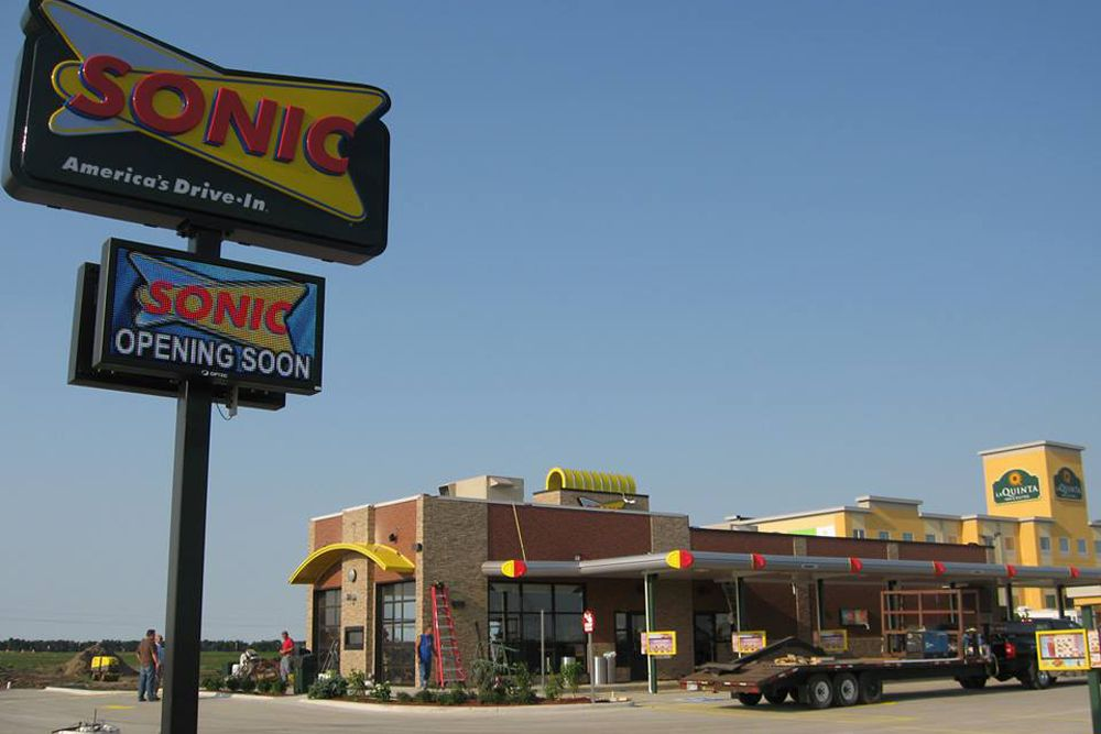 Wilkus Architects Designs First Sonic Drive In Of Minot Nd