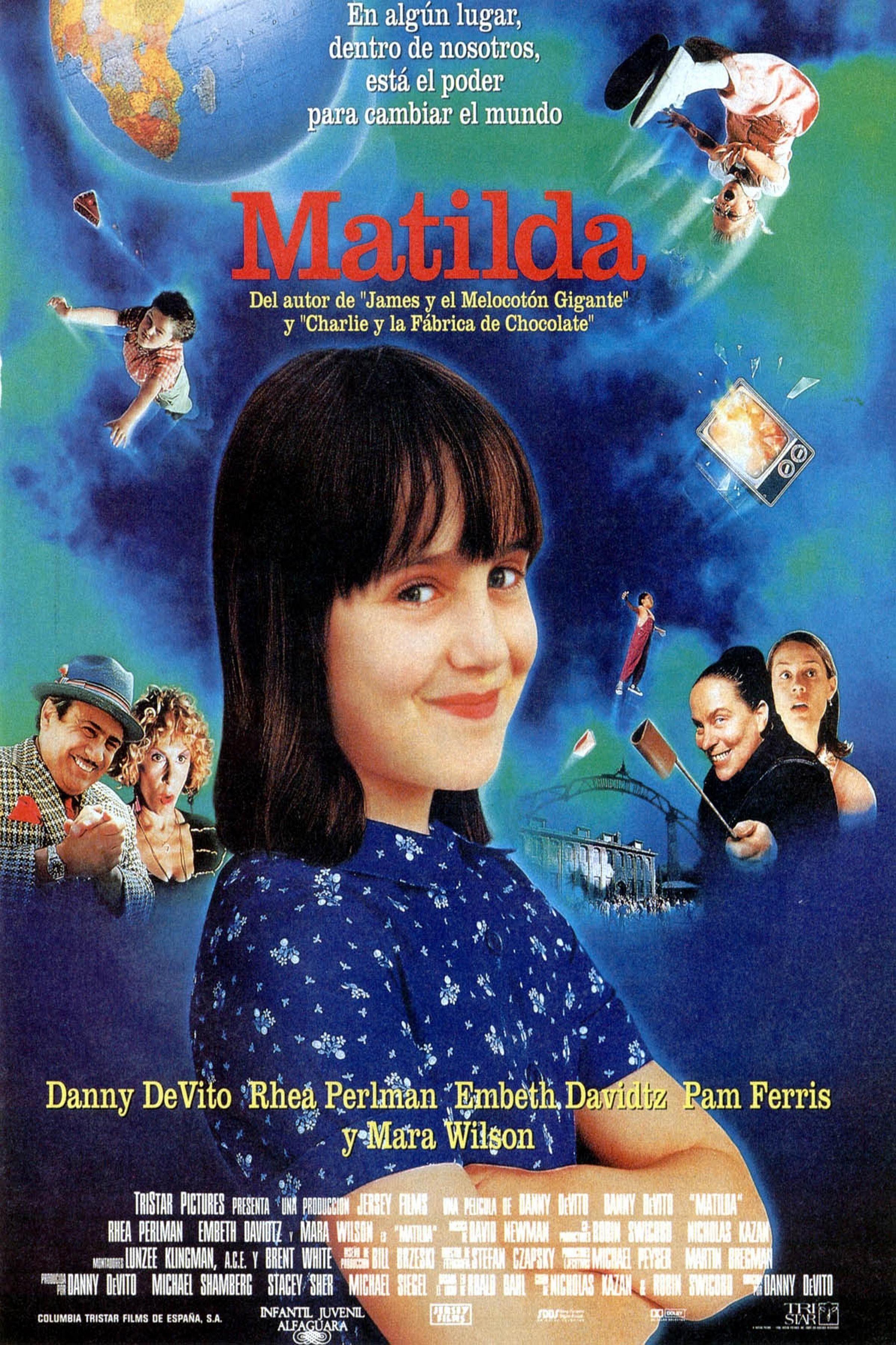 Matilda 1996 By Danny Devito Moovida Db Share And Play Ver Peliculas Peliculas De Halloween El Nino Pelicula