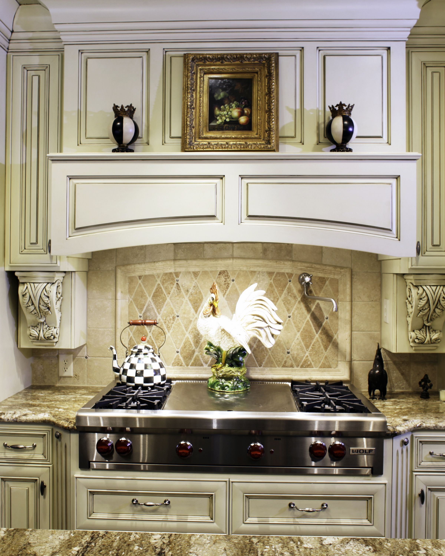 Kitchen Hood Decoration: #barenzbuilders Beautiful Decorative Hood Vent With Ornate