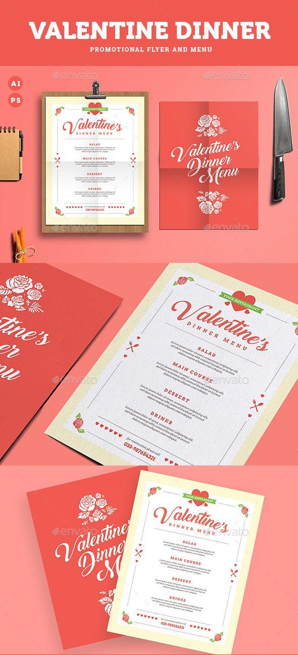 valentine diner menu by guuver valentine dinner food