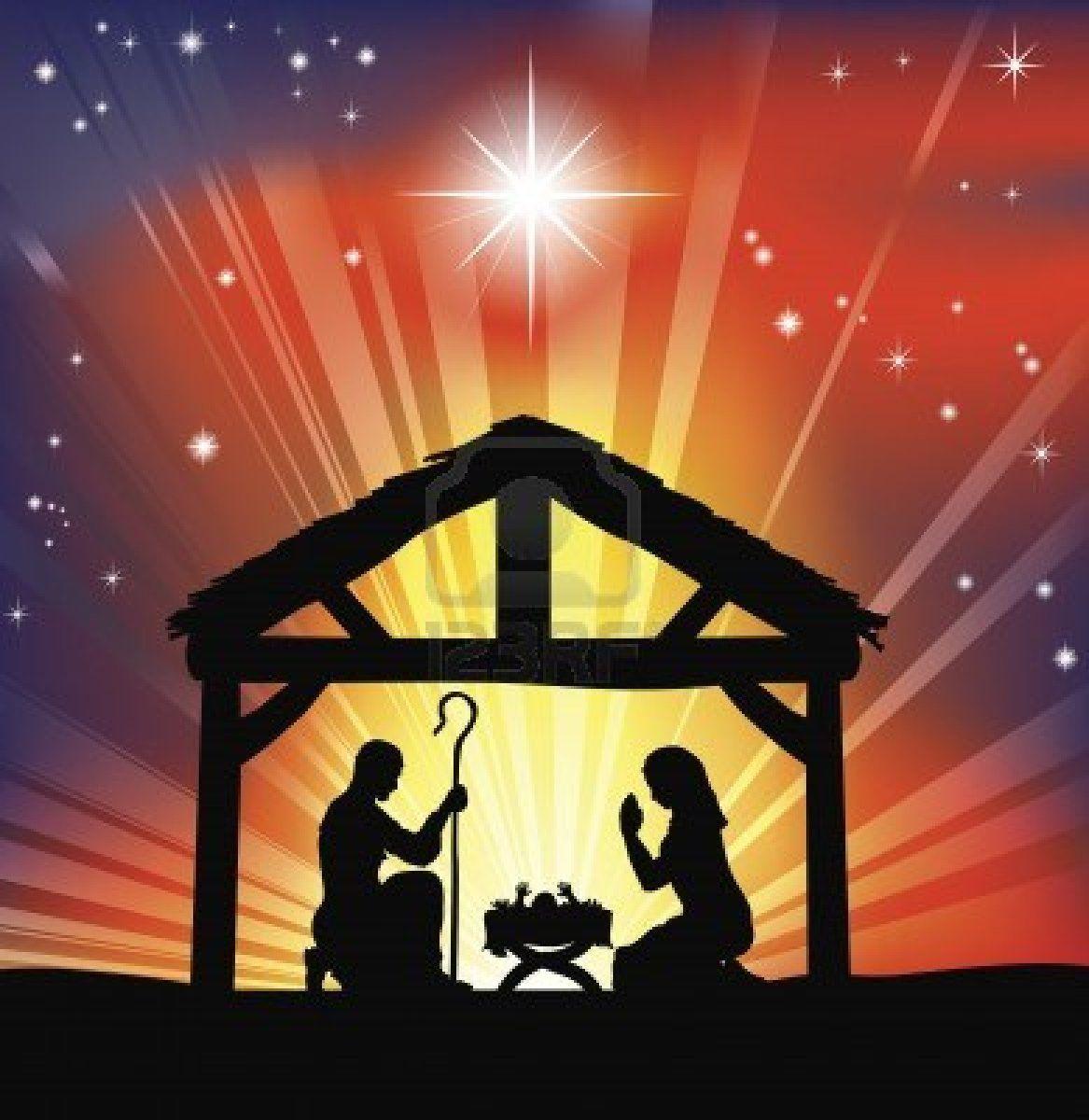 Go Back Images For Nativity Scene Clip Art EMLI