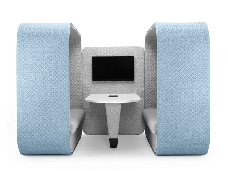 COCOON MEDIA UNIT Office booth by Boss Design | OFFICE | Pinterest
