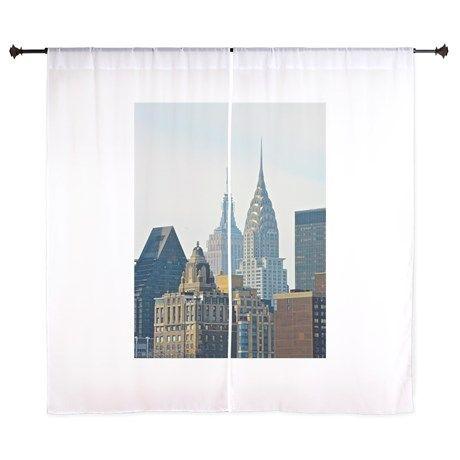 New York City Skysers Curtains On Cafepress