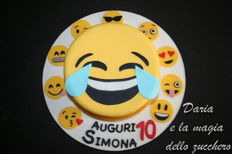 Torta Emoticon Torta Emoji Emoticon Cake Emoji Cake