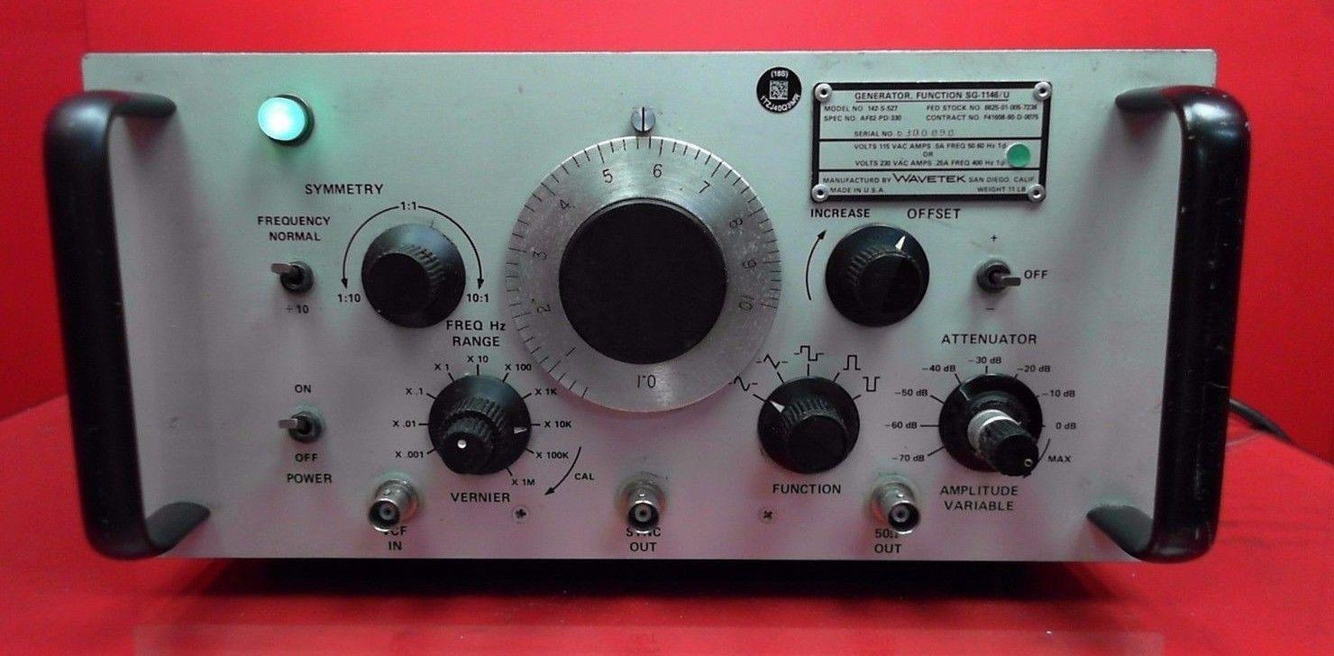 *LOT OF 2* Wavetek Function Generator SG1146/U Model