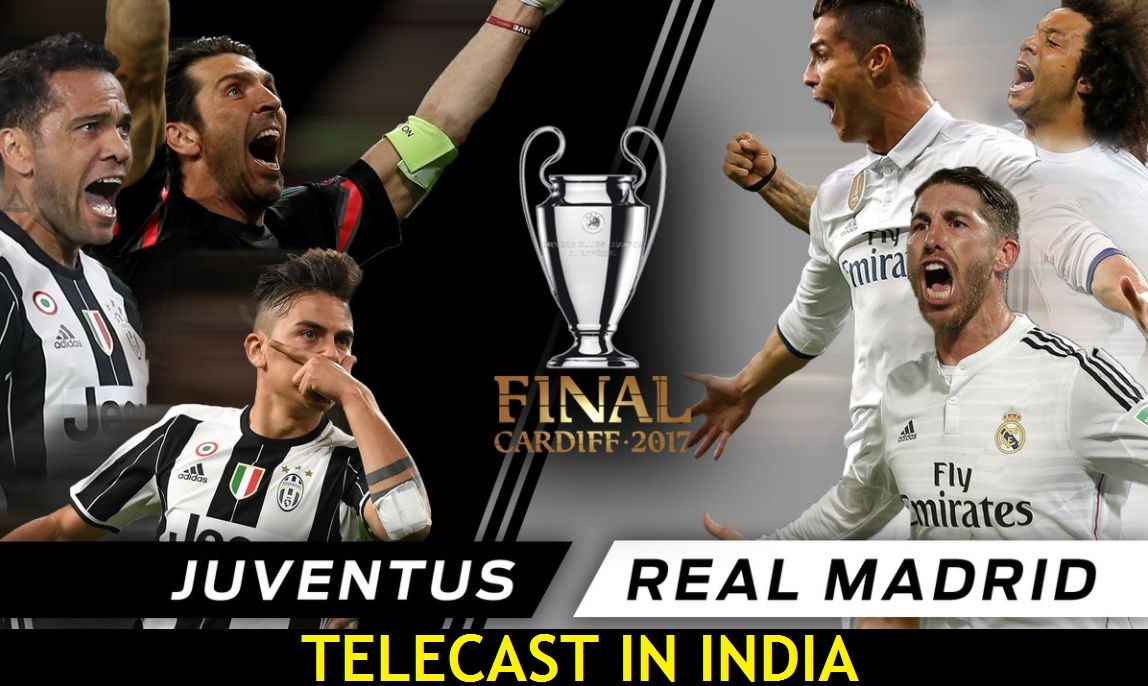 watch juventus vs real madrid uefa champions league final 2017 live stream free on