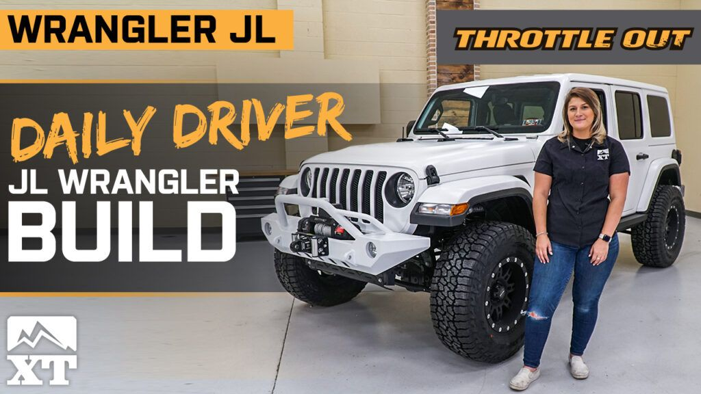 Video Daily Driver Jl Wrangler Build In 2020 Wrangler Wrangler