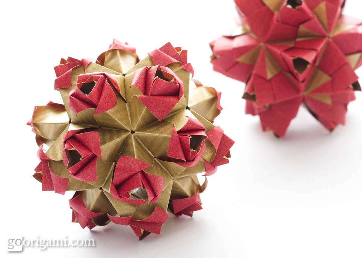 Little Unit Variations O Pinterest Origami Ball Modular