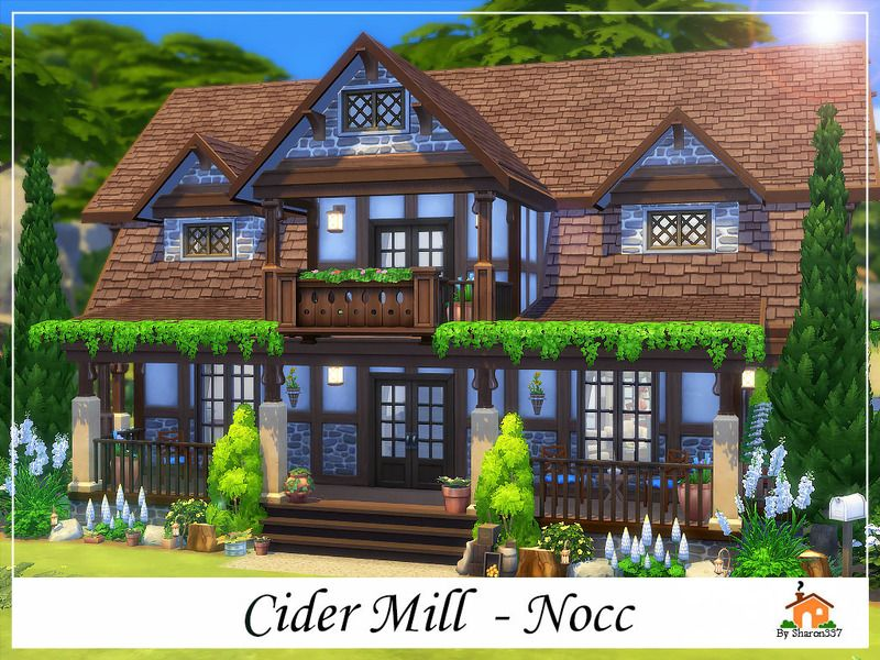 Cider mill is  family home built on  lot found in tsr category  sims residential lots also rh ar pinterest
