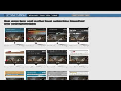 Five Free WordPress Theme Package from WP Theme Generator | Personal ...