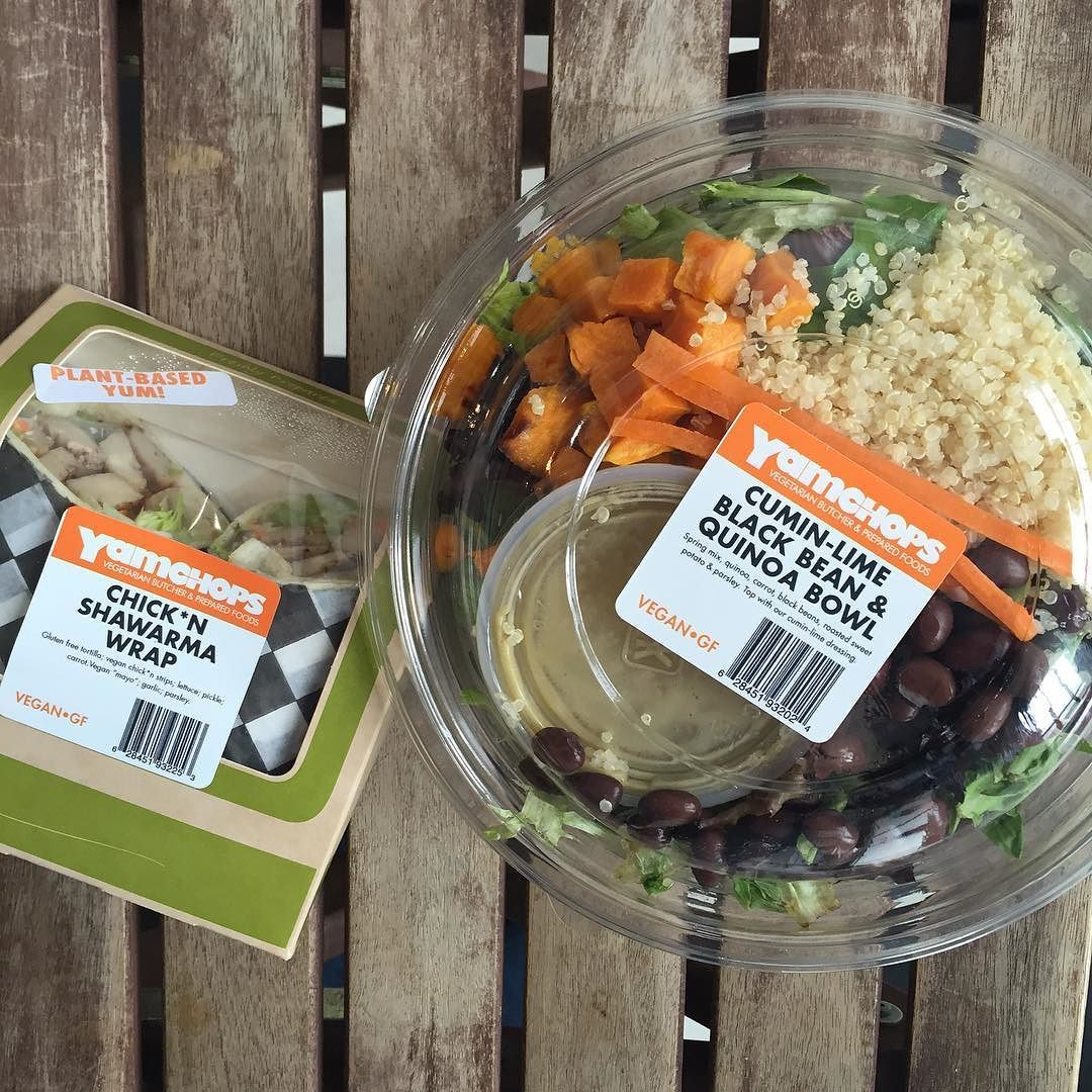 #MarchTOhealth with @yamchopsto wraps and lunch bowls. #Vegan and #Glutenfree deliciousness by march_to