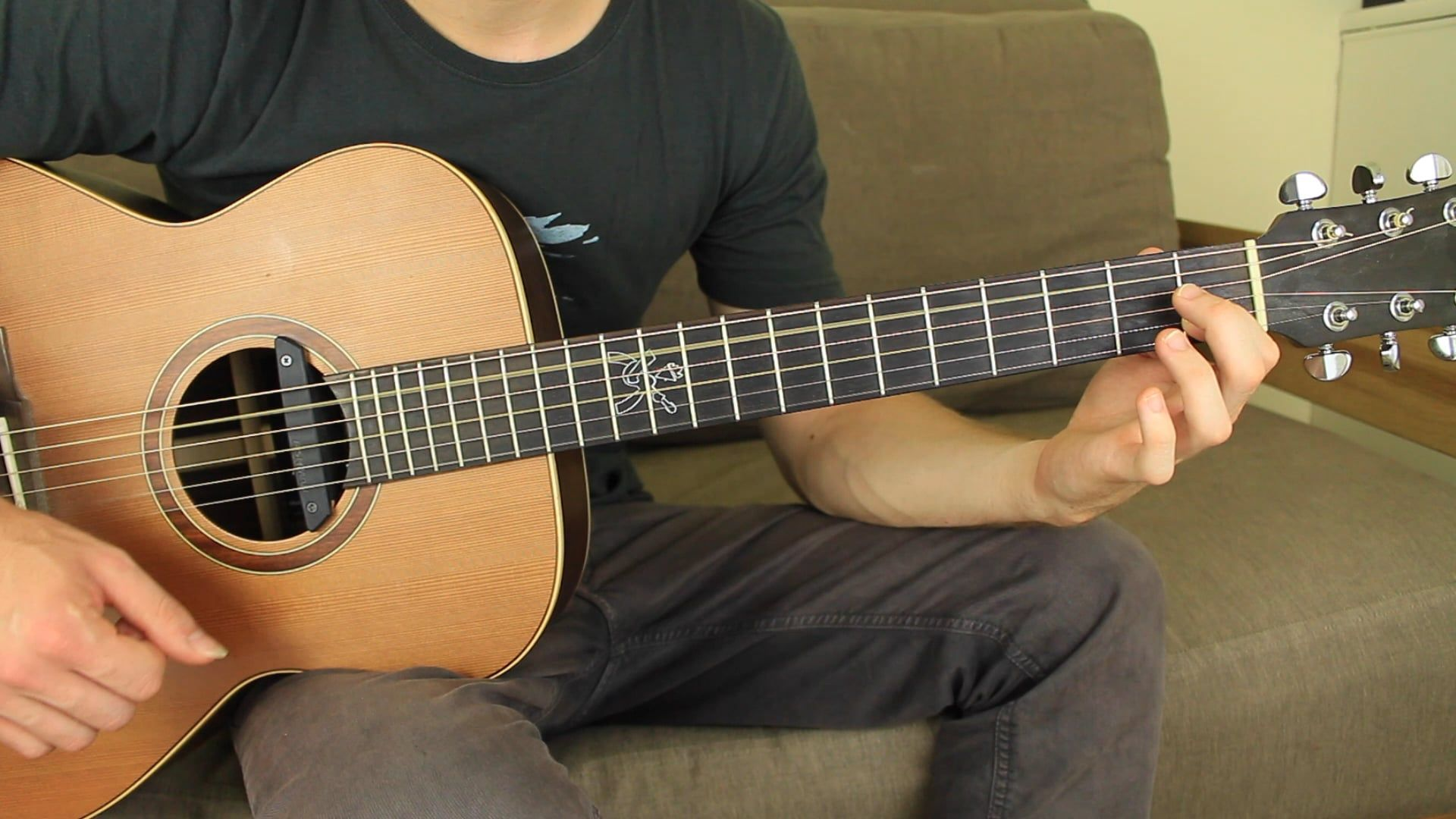 Acoustic Steps Stage 1 Intermediate Acoustic Fingerstyle Guitar Lessons Acoustic Guitar
