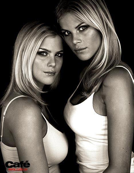 Blonde sexy twin pics 795