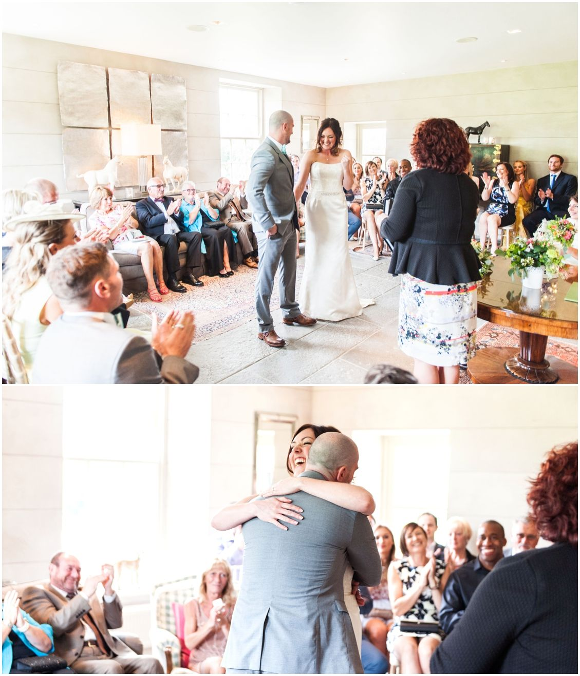 Axnoller House Wedding Ceremony In The Living Room Dorset Wedding In A Beautiful Boutique Venu Indoor Wedding Ceremonies Creative Wedding Photography Ceremony