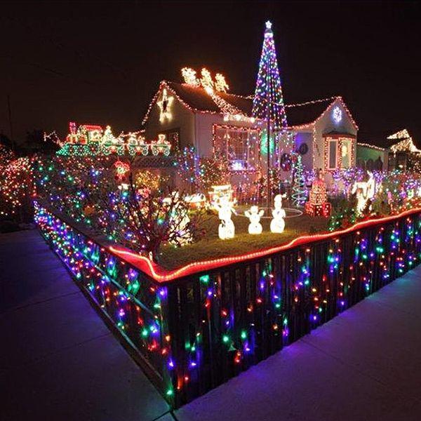 New Year 10M 110V 100-LED 8-Mode LED String Lights LED Strip Lights