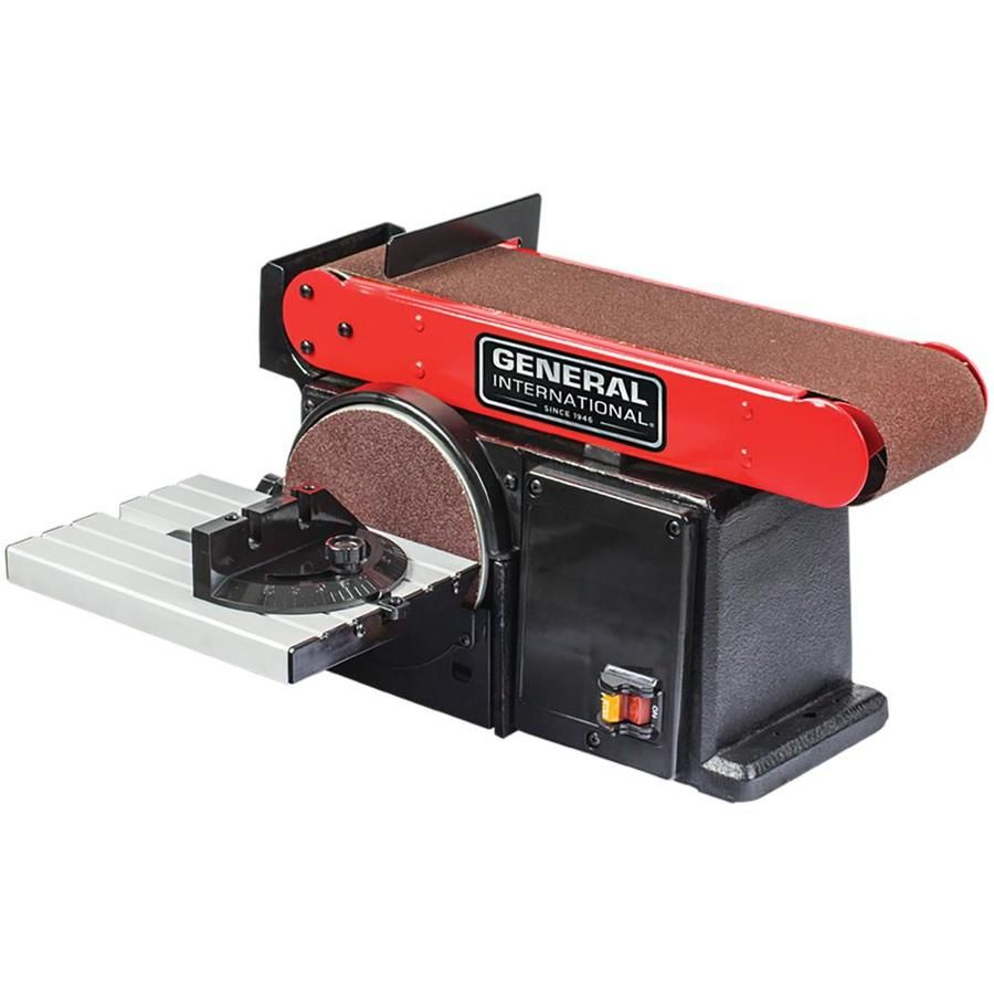 General International 15 Amp Benchtop Sander Bd7004 In 2020 Best Circular Saw Belt Dust Extractor