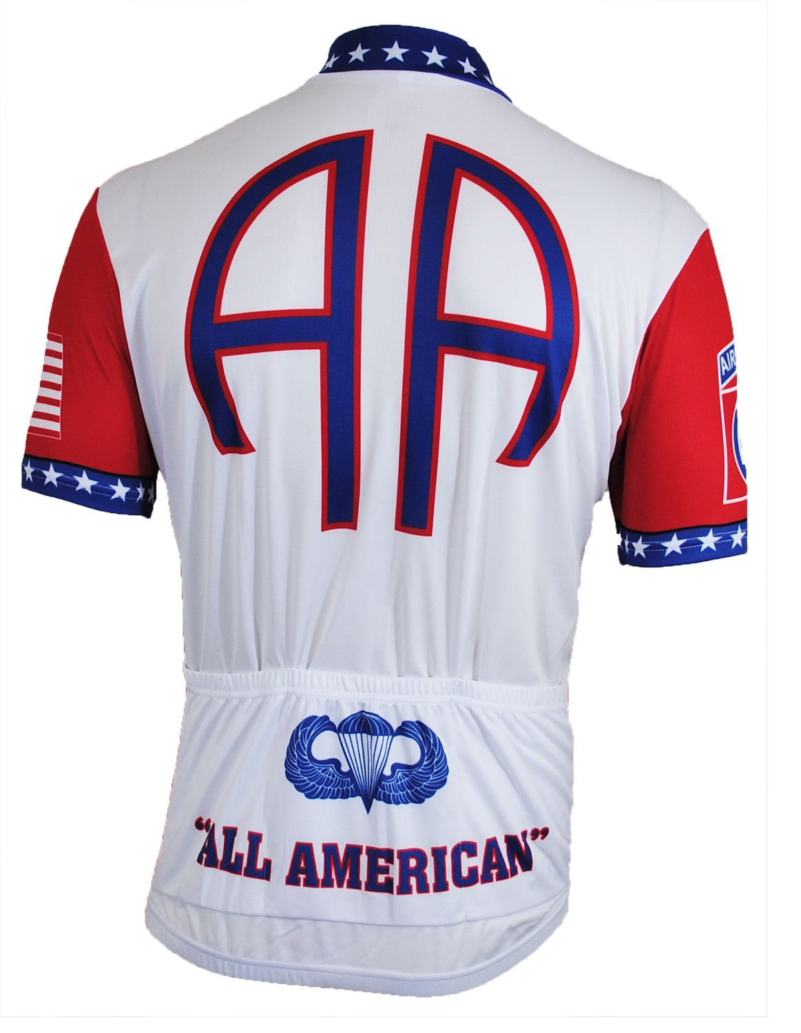 20f649ba1 82nd Airborne Cycling Jersey - Back View - FREE SHIPPING - http   www