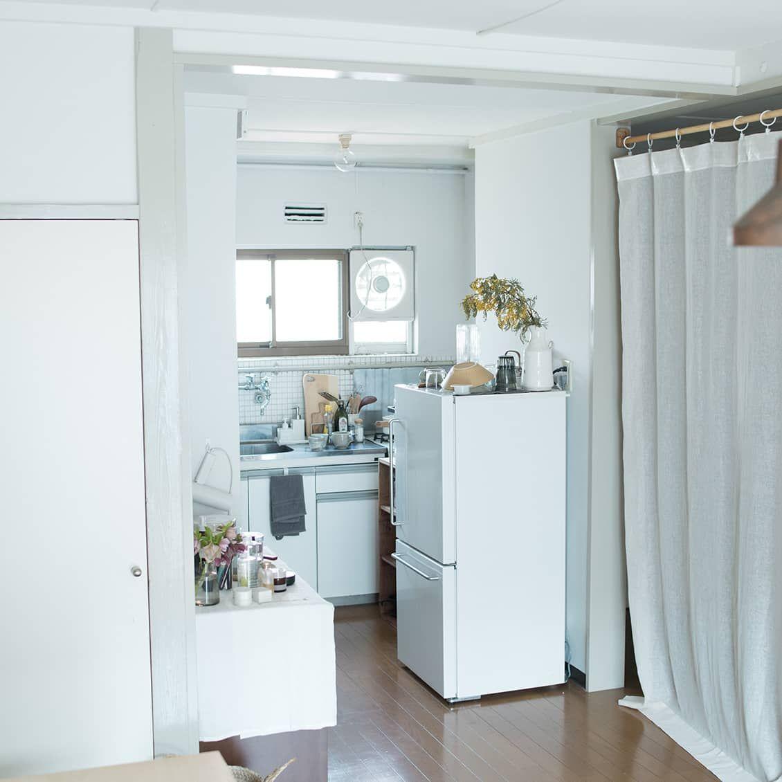 36平米ワンルーム 1人暮らし 心地いい家具配置のヒントは 目線 にあり インテリア インテリア コツ アパートのインテリア
