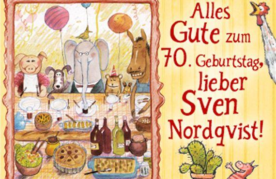 70 Cumpleanos Sven Nordqvist