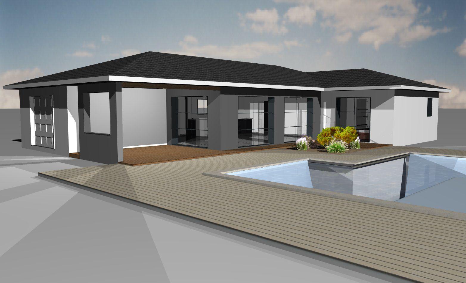 Modèles et plans de maisons > Modèle de plain-pied ...