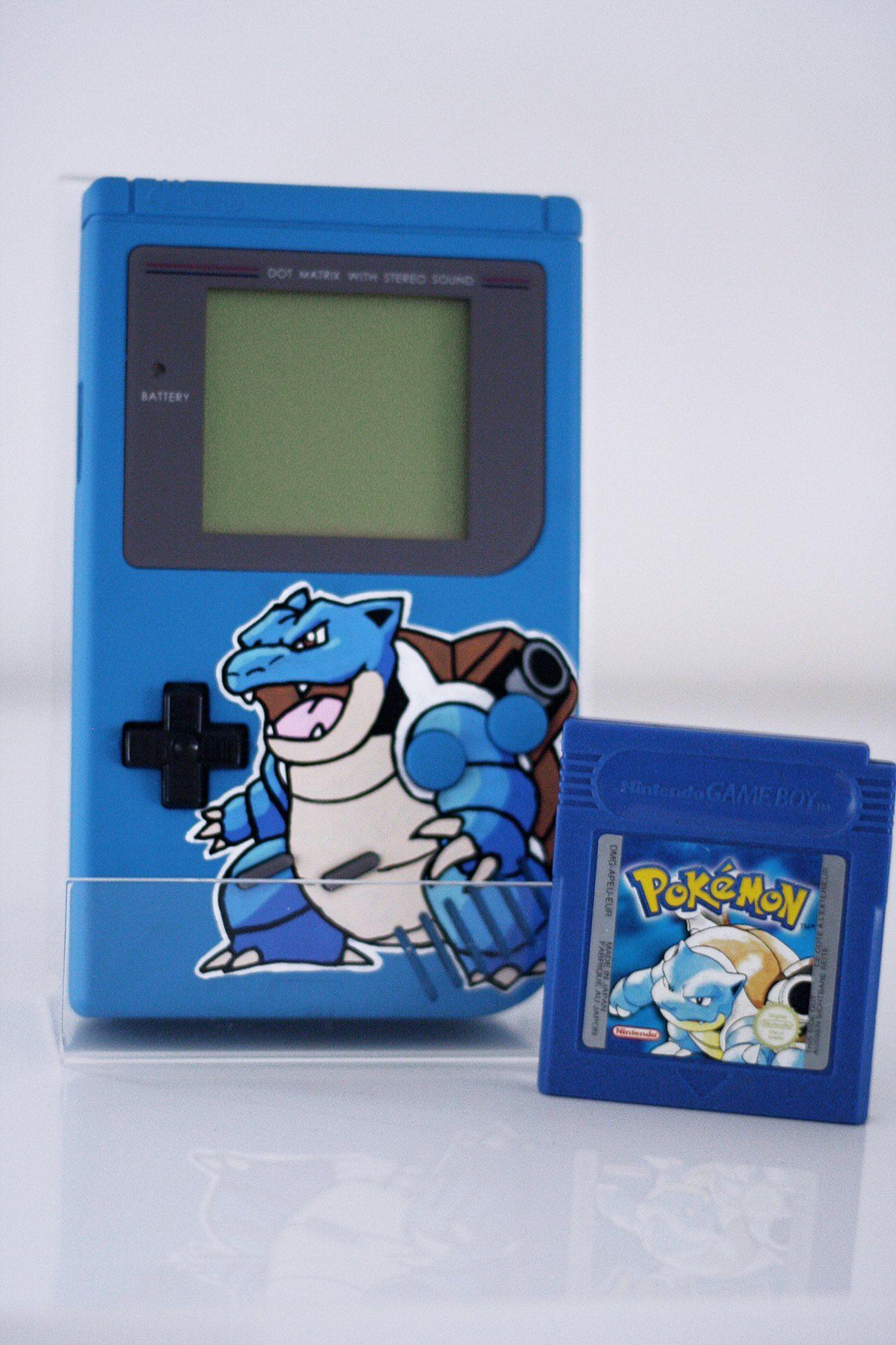 Pokémon Blue Game Boy DMG Blastoise Gameboy, Pokemon