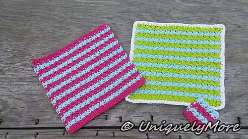 Crochet pattern for the Catalina Cloth and Scrubby set! I made this to go along…