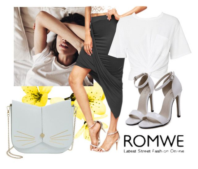 """""""Romwe"""" by vogue35-1 ❤ liked on Polyvore featuring T By Alexander Wang and Ted Baker"""