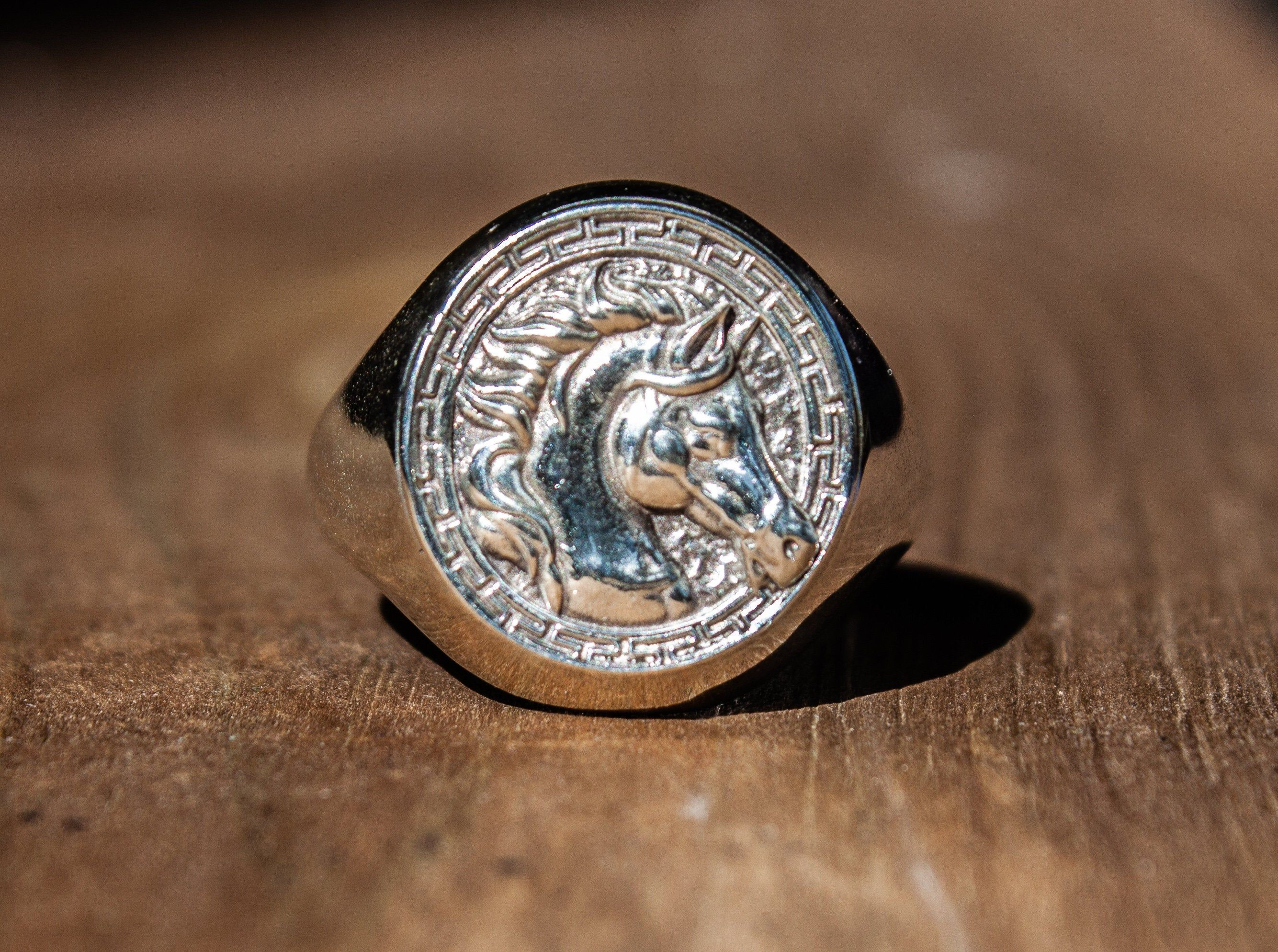 animal ring made of pure Sterling Silver FREE EXPRESS SHIPPING! Silver horse ring unisex equestrian ring