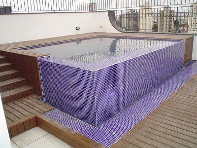 Plantar & Decorar - Dicas de Paisagismo e Decoração!: Pequenas piscinas, grandes projetos.