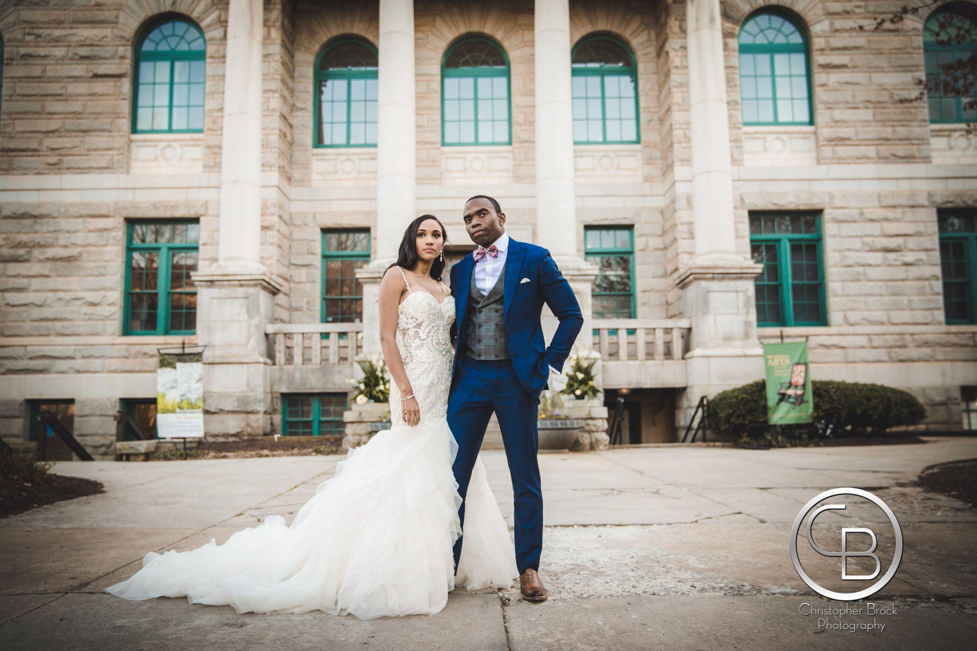 Atlanta historic dekalb court house wedding photography