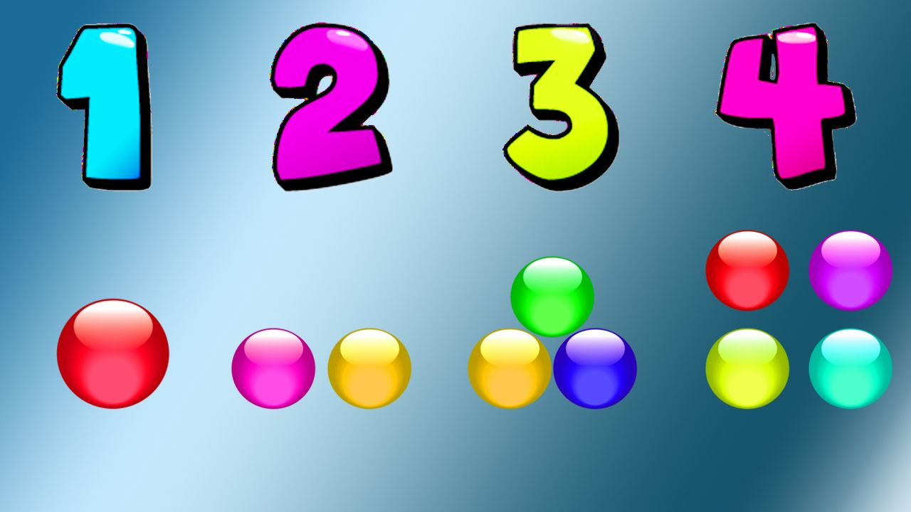 Learn Numbers & Alphabets With Color Balls Learn Count Numbers From ...