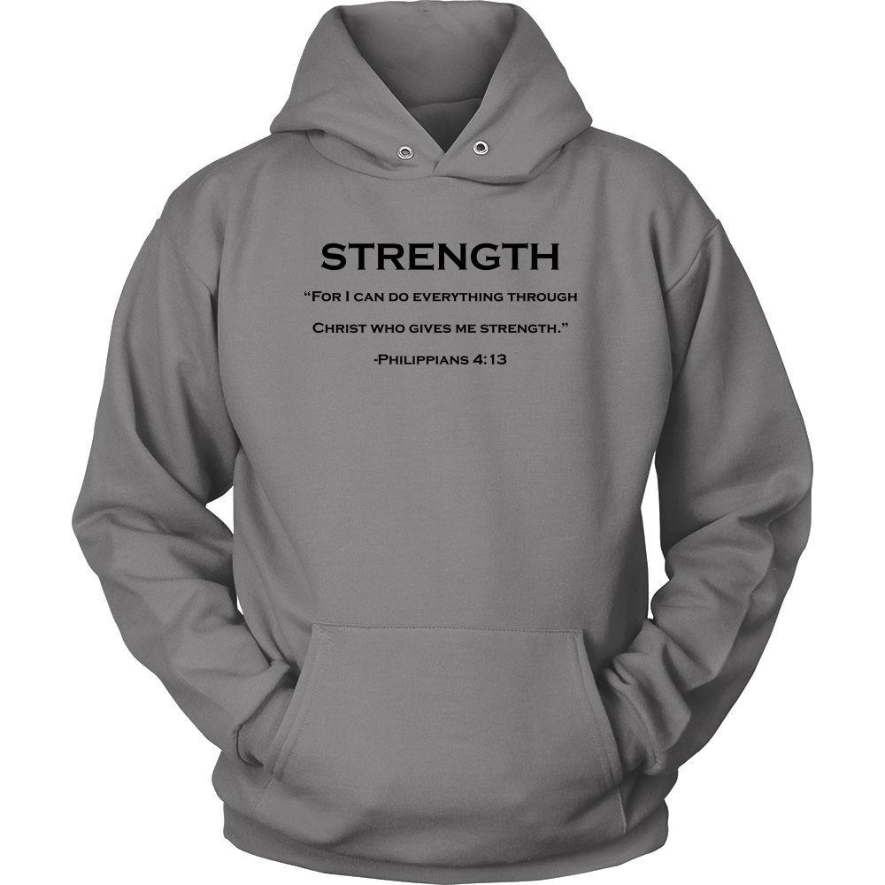 """My Strength""-Black Font"