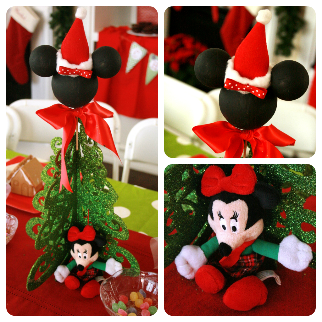 Populaire Awesome Picture Of Christmas Decoration Using Mickey Mouse  UY94