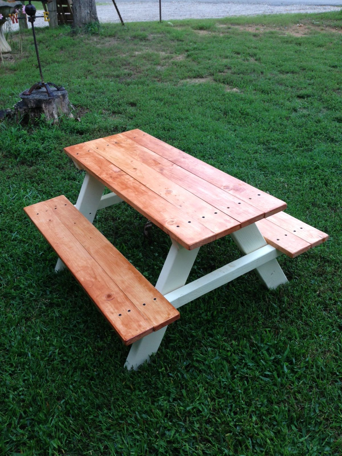 Kids Outdoor Table And Chairs Kids Picnic Table 60 Things I 39ve Made In 2019