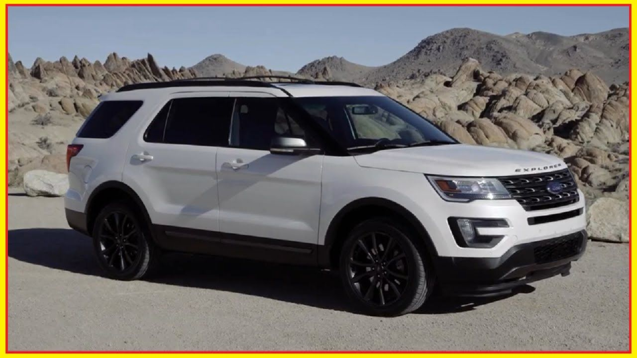 2017 Ford Explorer XLT with Sport Appearance Package